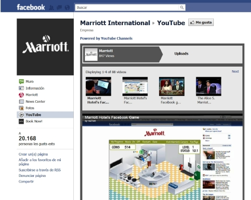 Marriott Hotels Youtube Channel