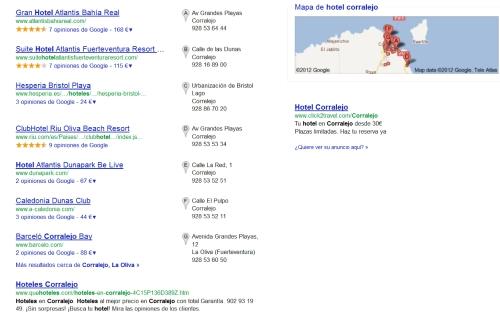 Hotel Corralejo - Google